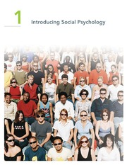 Chapter 1 Introducing Social Psychology