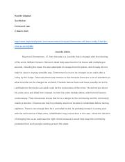 Crime & Law Juvenile Article Summary