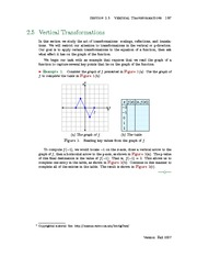 Section 5: Vertical Geometric Transformations
