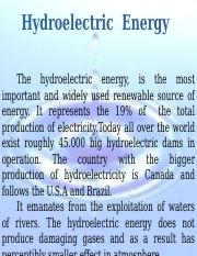 Hydroelectric ernergy_English.ppt