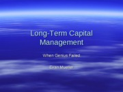 Long-Term Capital Management