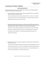 goal setting worksheet us 101 The practice of goal-setting is not just helpful it is a prerequisite for happiness psychologists tell us that people who make consistent progress toward meaningful goals live happier more satisfied lives than those who don't.