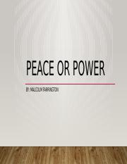 7.02 Peace or Power.pptx