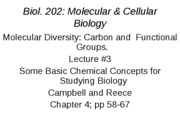 LECTURE-3_Molecular Diversity