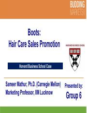 marketing report of boots hair care sales promotion If your business is involved in hair care or international marketing international sales com/sales-promotion-used-international-marketing.