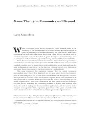 Game Theory in Economics and Beyond.pdf