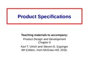 Ch6 Product_Specifications