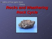 Rocks and WeatheringOpt