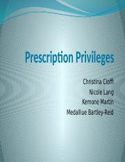 Prescription Privileges (1).pptx