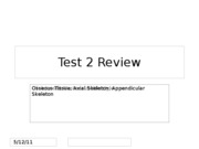 Test 2 Review.
