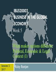 Ruby IBUS20002 Week 5 2016_Political, Economic and Legal (1).pdf