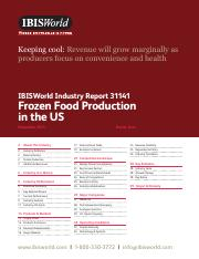 IBIS Industry Report 31141 Frozen Food Production in the US(1).pdf