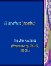 El Imperfecto.ppt