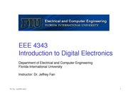 lecture 3 on Introduction to Digital Electronics