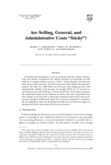 [4_1]_2003_Anderson_et_al_Are_selling,_general_and_administrative_costs_sticky