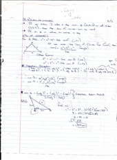 Law of Cosines Notes