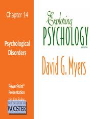 ExpPsych9e_LPPT_14 - Psychological Disorders