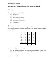 Exercise Ch1 Solution