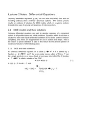 Lecture 2 Notes Equations