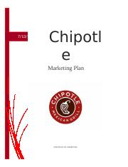 Marketing Plan Chipotle.docx