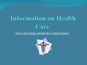 Information on Health Care