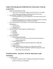 ISYS Exam 3 Study Guide.docx