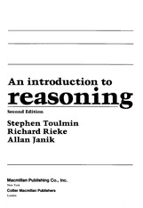 [toulmin1979introduction] An introduction to reasoning (Toulmin, Rieke, Janik)