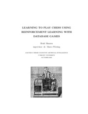LEARNING TO PLAY CHESS USING_reinforcement