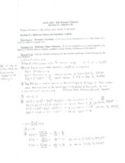 Math 1215 Lecture Notes October 21