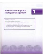 Global Strategic Management-Frynas and Mellahi-2nd edition-Chapter 1