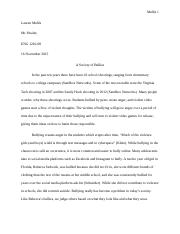 A Society of Bullies Research Paper.docx