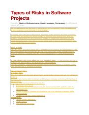 Types of Risks in Software Projects.docx