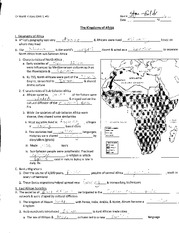 Notes on African Kingdoms