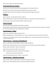 BIO 141 Lab Exam 6 Nervous System Lab Practical Study Guide.docx