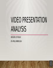 Video Presentation Analysis.pptx