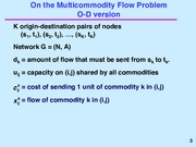 The Multicommodity Flow Problem notes