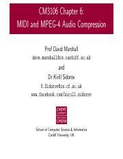 00_Course_Intro pdf - CM3106 Multimedia Prof David Marshall dave