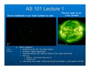 AS101 Lecture 1