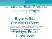 Intl_Team_Leadership_Draft updated 6-9-11