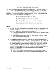 Exam 1 MWF Review (Ch. 1, Ch. 2)