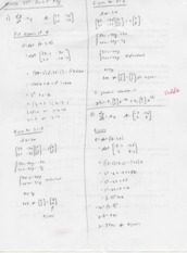 Differential Equations with Matrix Theory Quiz 5 Solutions