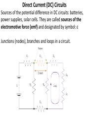 direct current circuits problems pdf