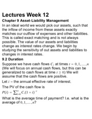 ACTSC 231 Lectures Week 12