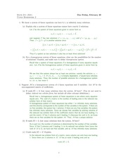 Math 221 Homework 2 and solutions