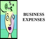 Lecture 6 - Business Expenses.ppt
