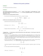 Review problems solutions