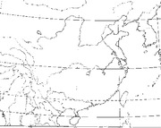 map-china-outline
