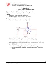 EECE2070 Lab 12 Into to Op Amps(1)