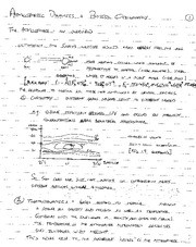 EAS 475 Atmospheric Dynamics Notes