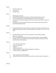 Management Presentation Speaking Outline